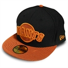 Boné New Era San Francisco Black & Orange