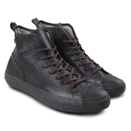 fad8e3cdcc3 Tenis Converse All Star CT AS Monochrome Leather Hi Black