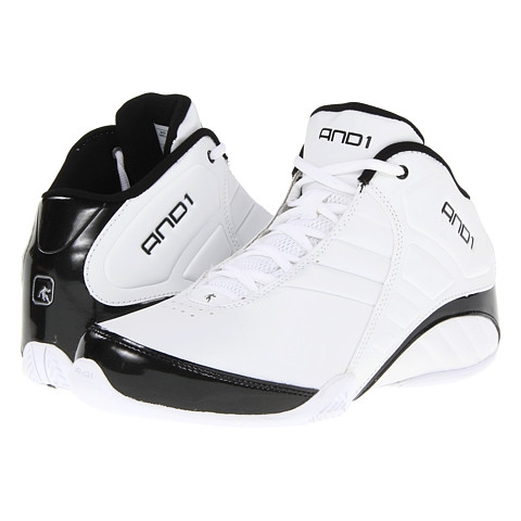 8f219b5d783 Tenis AND1 Rocket 3.0 Mid White   Black
